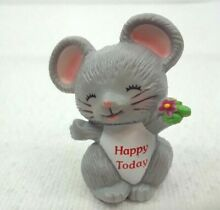 Mouse hard plastic happy today