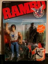 Rambo action figure 1985 fire power