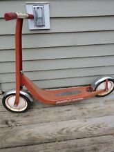Radio flyer scooter model 38 retro