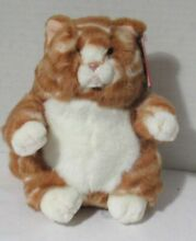 Plush stuffed animal kitty cat