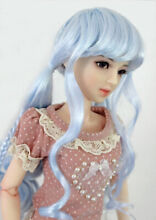 1 3 1 4 bjd 7 8 doll head blue