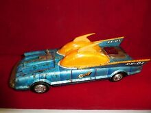 Tin toy japan car asc space patrol