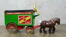 Horse drawn removal van schweppes