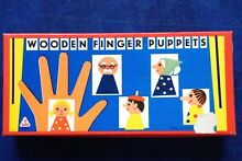 Tofa wooden finger puppets 5