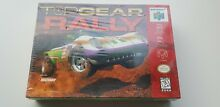 Top gear rally n64 old stock sealed
