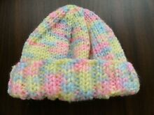 Baby born dolls knitted beanie hat