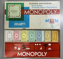 Monopoly 1973 board game 100