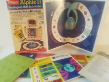 Playskool alphie ii reading and
