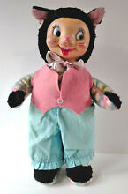 Early gund rubber face plush easter