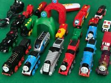 Individual battery trains for