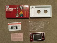 Mario s cement boxed