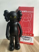 Kaws black 8 companion boxed