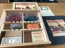 Monopoly parker hasbro wooden