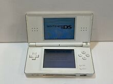 Lite white handheld game console
