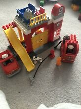 Lego fire station set