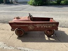 Fire chief pedal car 1960s city