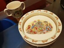 Royal doulton bunnykins bone china