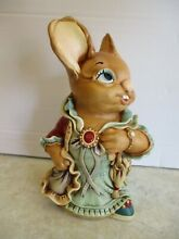 Large rabbit aunt ruby red and