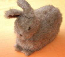 S rabbit soft toy