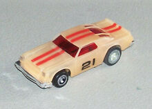 Ideal tcr ho slot car nite glow and