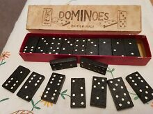 Set of goatoy dominoes horses on