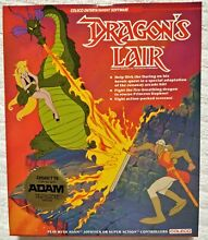 Dragon s lair adam computer sealed
