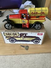 Tinplate boxed gas oil lorry