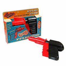 Potato pistol classic retro toy