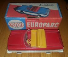French toy car autoboat europarc