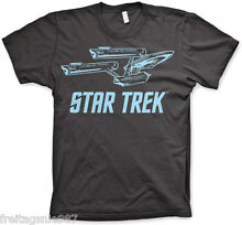 Enterprise t shirt camiseta cotton