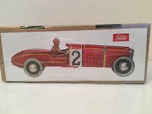 Tin plate classic race car 2 red