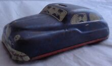 Macchina polizia car tin toy mt