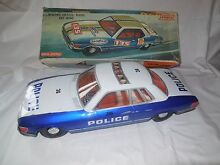 Rare mercedes friction police car
