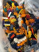 Bulk 100 connectors k nex mixed