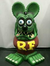 Green rat fink big daddy garage kit