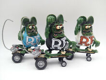 Rat fink big daddy skateboard