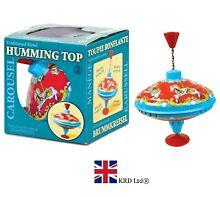 Carousel humming top traditional