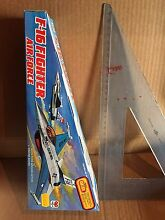 F 16 fighter air force like tin toy