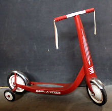 Retro red radio flyer childs kids
