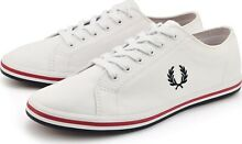Fred perry twill white navy red