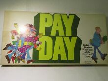 Parker brothers pay day where does