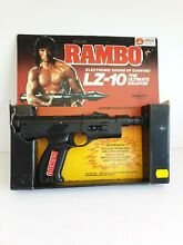 Rambo 1985 toy boxed made by