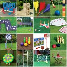 Giant outdoor garden games summer