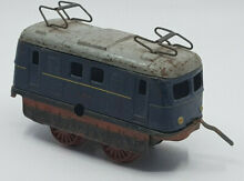 Wind up tram train friction toy