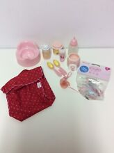 Doll accesories potty bottles food