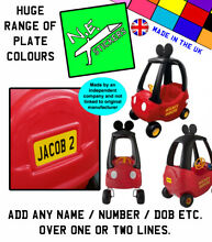 Personalised number plates to fit