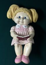 Cabbage patch ceramic seated