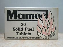 18 genuine waxed solid fuel tablets