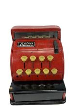 Toy cash register red