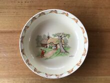 Royal doulton bunnykins dish by